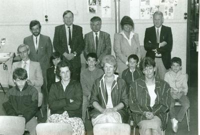 Informatie-avond overgang Basisschool naar het VSO, Lichtervelde, juni 1987