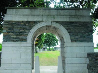 Britse militaire begraafplaats, Dadizele
