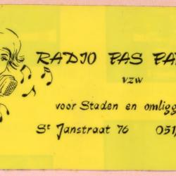 Radio Pas Partoe, Staden