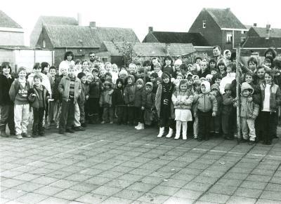 Fruitboomplanting, Lichtervelde, november 1987