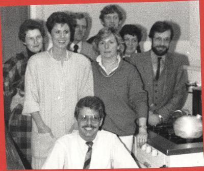 Kippenfestijn georganiseerd door ouderraad, Lichtervelde, 8 februari 1986