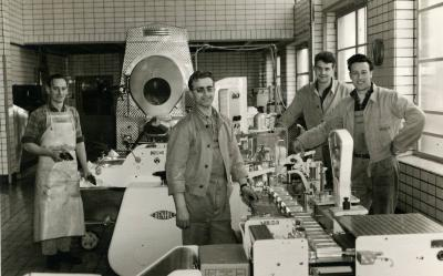 Boterverpakking in zuivelbedrijf Eurolac (1966-1985), Moorslede