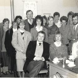 Info-avond rond studiebegeleiding, Lichtervelde, 26 maart  1986