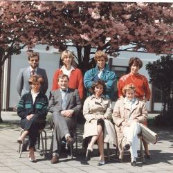 Leerkrachten RSB, Lichtervelde,1986