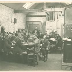 3e en 4e Latijnse Klas bij E. Coussée-Bostoen, 1914-1915, Roeselare
