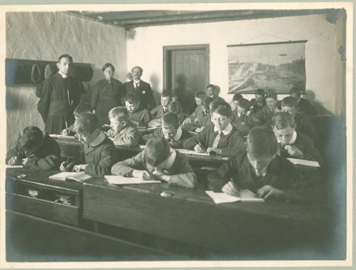 7e klas bij Veranneman-Veys, 1916-1917, Roeselare