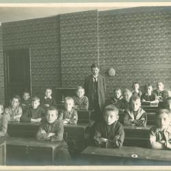 2e studiejaar bij Vercruysse-Vanheule, 1915-1916, Roeselare