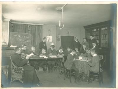 6e Handelsklas bij Albert Denys Coussement, 1914-1915, Roeselare