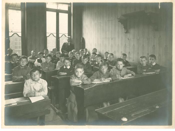 2e en 3e studiejaar bij Vercruysse-Vanheule, 1915-1916, Roeselare