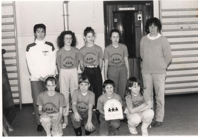 Netbalfinale Gits, 15 februari 1989