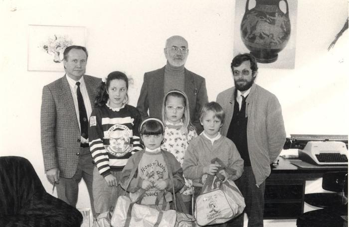 Toekenning sporttassen, Lichtervelde, maart 1989