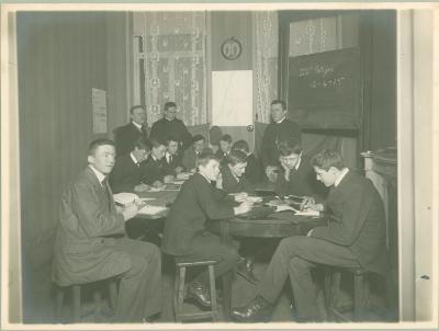 3e Latijnse klas bij Jules Demeester, 1914-1915, Roeselare