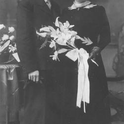 Huwelijksfoto  Julien Rommel en Ludwina Vierstraete