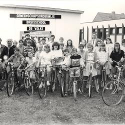 Eindejaarsfietstocht, Lichtervelde, juni 1990.