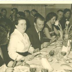 Personeelsfeest, 1958