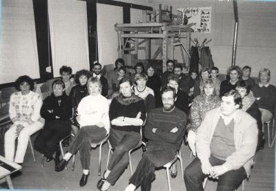 Tuur in de natuur was op bezoek, Lichtervelde, 20 februari 1991