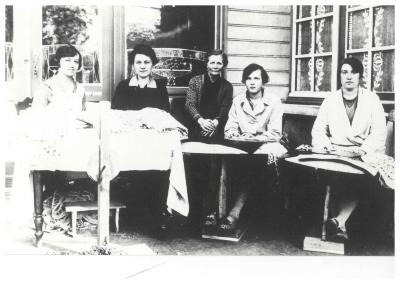 Speldewerksters, Ingelmunster, ca 1925