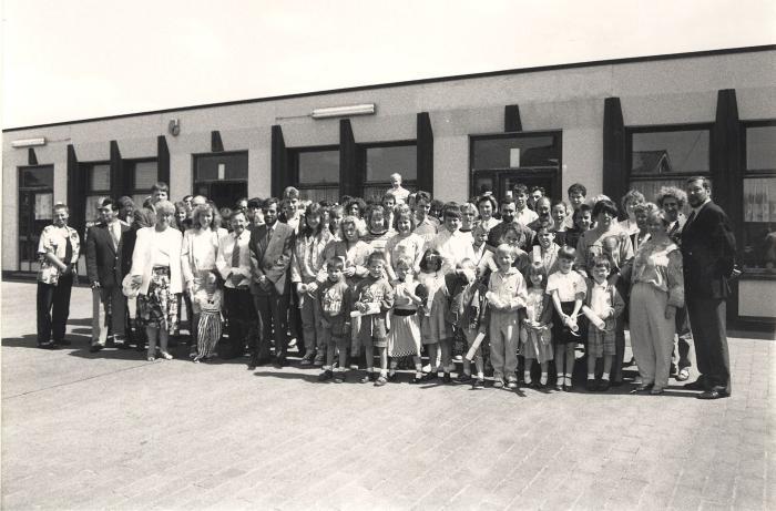 Diploma-uitreiking, Lichtervelde, juni 1991