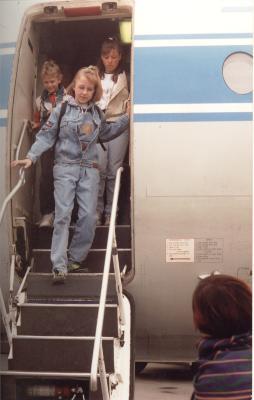Uitstap per vliegtuig, Lichtervelde, 3 juni 1991