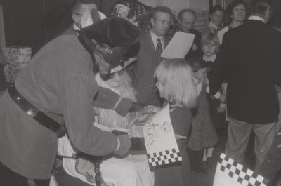Sinterklaas op bezoek, Moorslede 1975