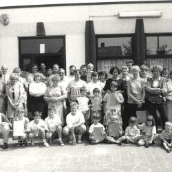 Uitreiking getuigschriften, Lichtervelde, 27 juni 1992