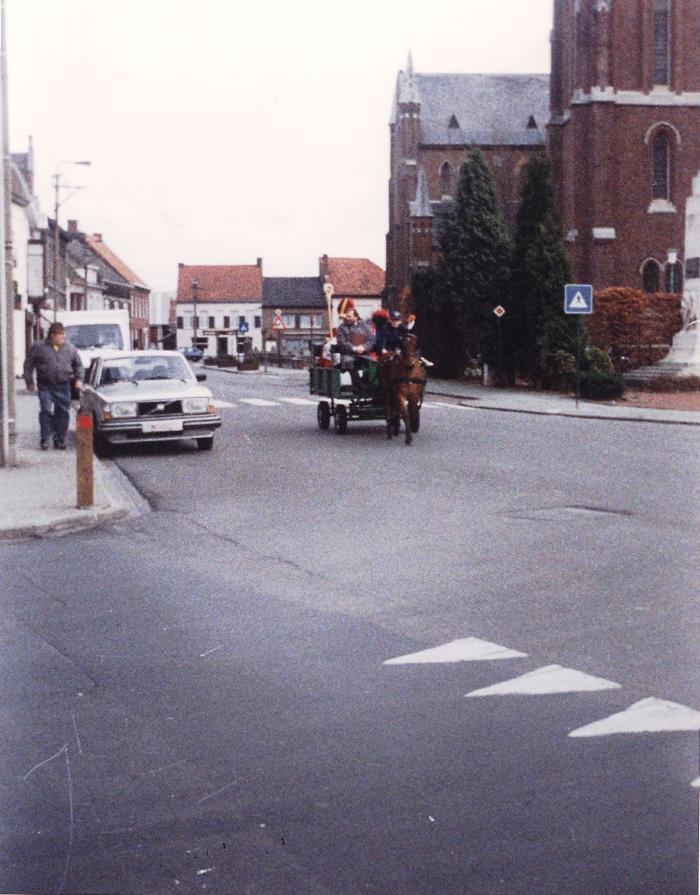 Aankomst van Sint en Piet, Lichtervelde, december 1992