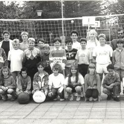 Kracht-volleybal, Lichtervelde, oktober 1992