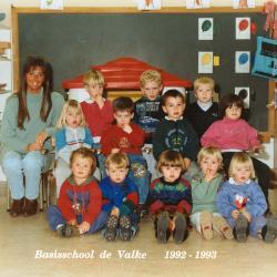 Klasfoto's, schooljaar 1992-93, Lichtervelde