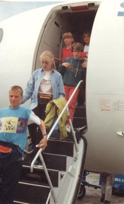 Leerlingen terug de lucht in, Lichtervelde, 1 oktober 1993