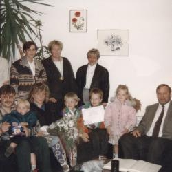 1000ste kleuter in de Valke, Lichtervelde, september 1993