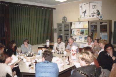 Vergadering Ouderraad en Vriendenkring, Lichtervelde, 1 oktober 1993