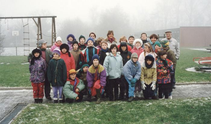 Sinterklaaswandeltocht te Rumbeke, december 1993
