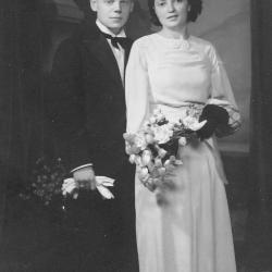 Huwelijksfoto broer Maurice Huysentruyt