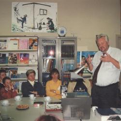Info-avond over de nieuwe leerplannen, Lichtervelde, 21 oktober 1999