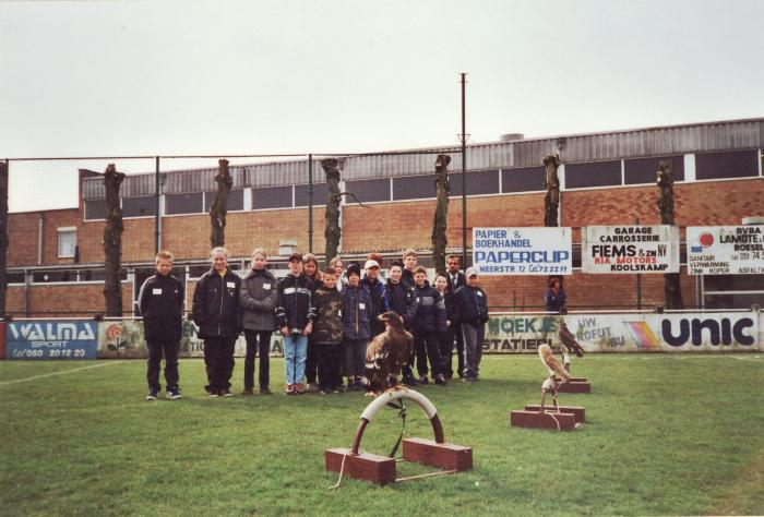 Sport op school, Lichtervelde, mei 2001