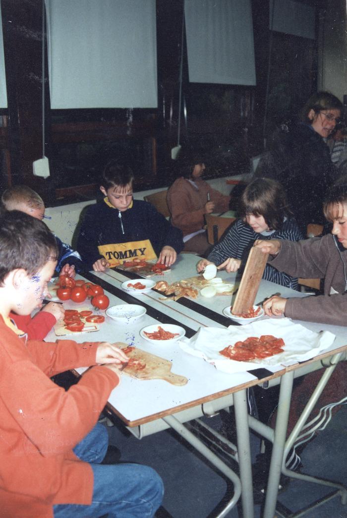 Braziliaanse dag met eten en dans, Lichtervelde, 11 november 1999
