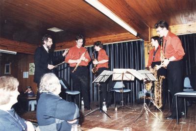 Muziek-café met SAX en dehors, Lichtervelde, 3 april 1999