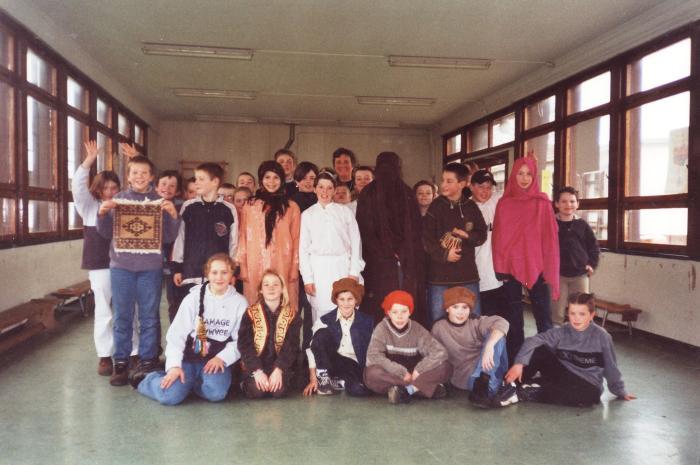Bezoek aan het bakkerijmuseum, Lichtervelde, mei 2001