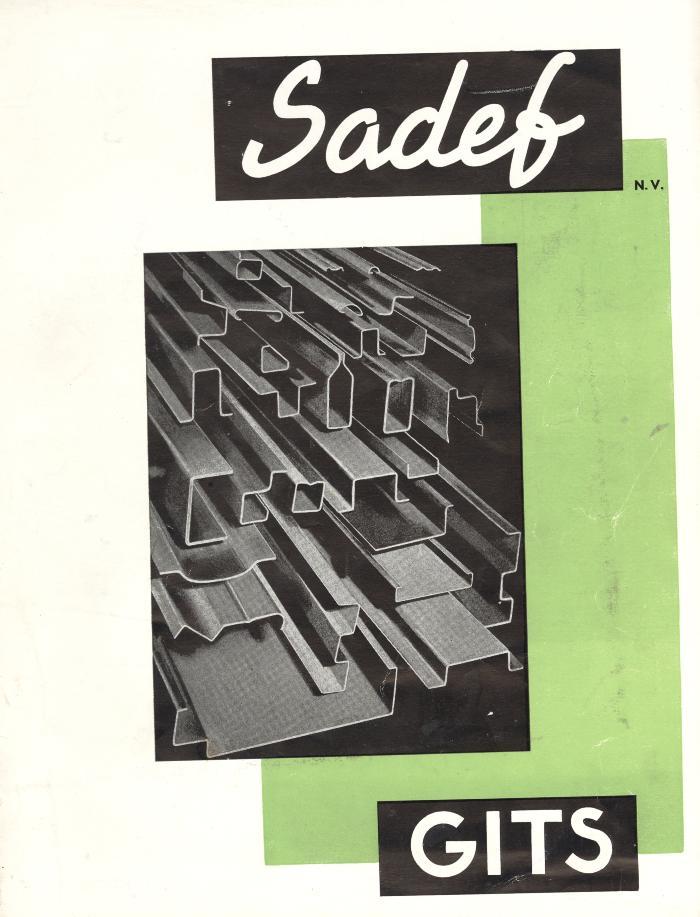 Bedrijfsbrochure Sadef, Gits