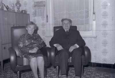 Gouden echtpaar Dejonghe, Moorslede december 1975