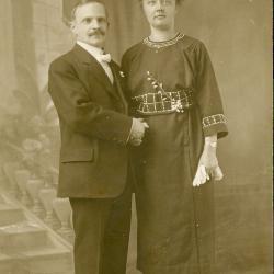 Huwelijksfoto namen onbekend