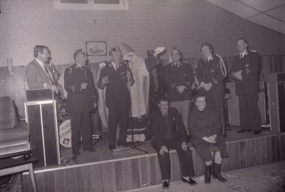 Muziekkorps viert St.-Ceciliafeest, Moorslede 1975