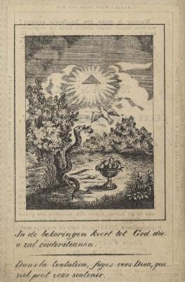 Bidprentjes, Ingelmunster, 1843