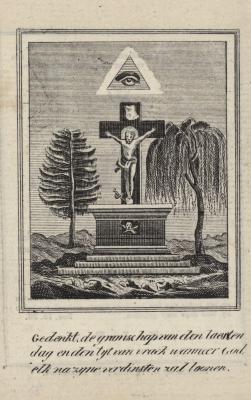 Bidprentjes, Ingelmunster, 1837