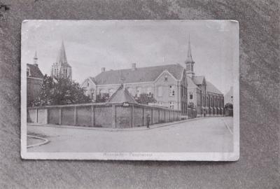 Foto van oude prentkaart: klooster Moorslede