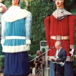 Reuzen avondmarkt Dadizele, 1990