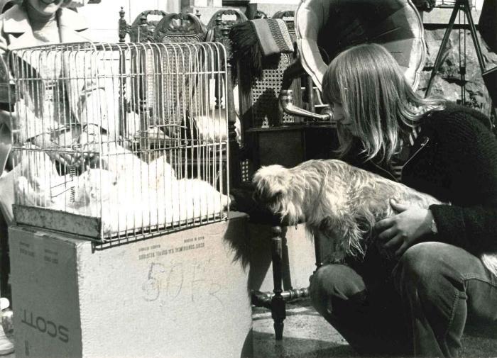 Batjes, rommelmarkt, 1975