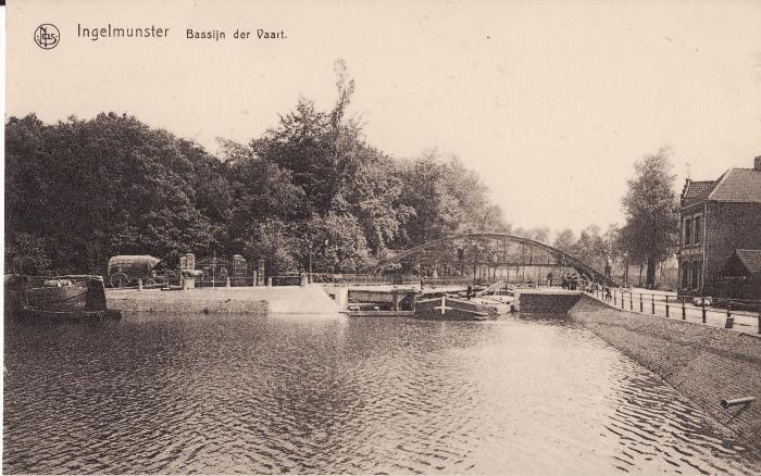 Bassijn der Vaart, ca 1910