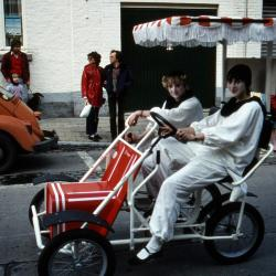 Tap en Torrestoet Dadizele: go-cart met pierrots; 15 mei 1983