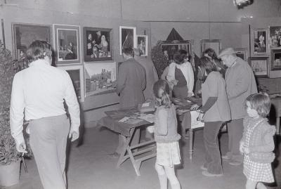 Schilderijententoonstelling, Moorslede mei 1975